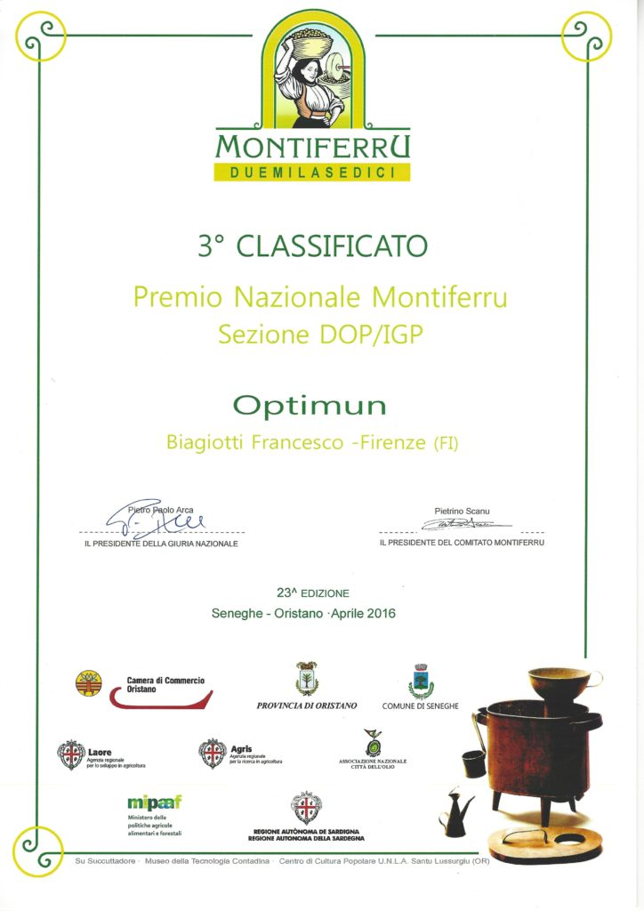 3° OPTIMUN MONTIFERRU 2016